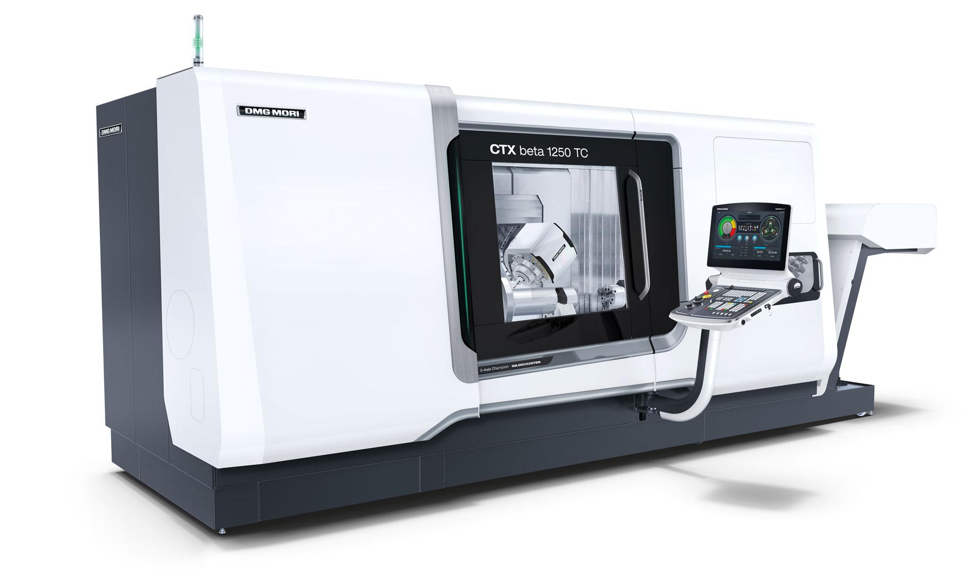 DMG CTX beta 800 TC Span-Tec