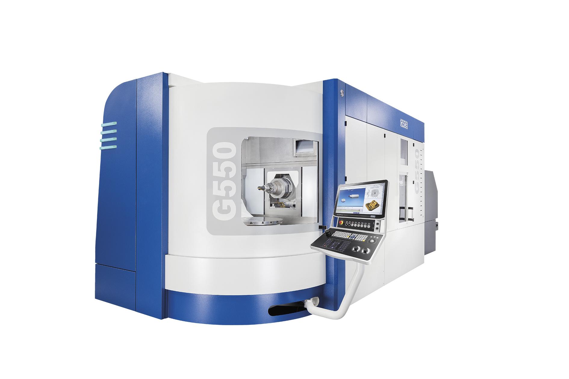 CNC-Fräsmaschine Grob G 552, x=800 y=1020 z=970, 30000 1/min   ohne Palettenspeicher Span-tec